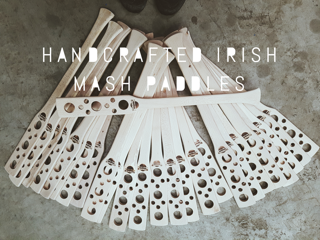 Handcrafted Mash Paddles