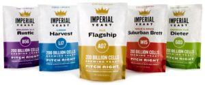 Imperial yeast geterbrewed