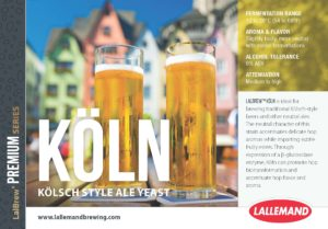 Lalbrew Koln Dried Kolsch Yeast