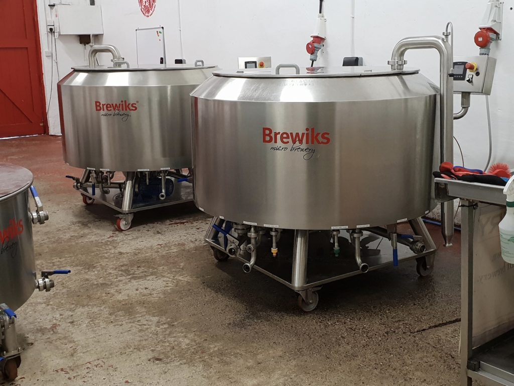 Brewiks Microbrewery Equipment; two Brewiks 500 systems