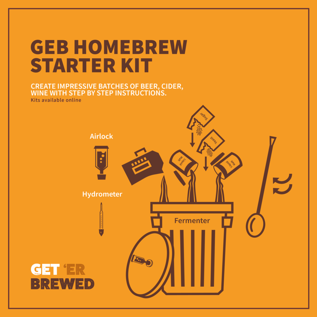 Geterbrewed Homebrew Starter Kits