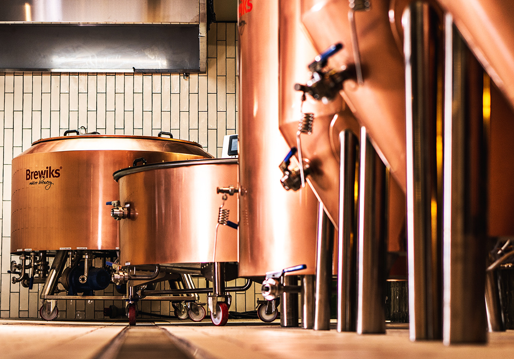Copper Brewiks Microbrewery