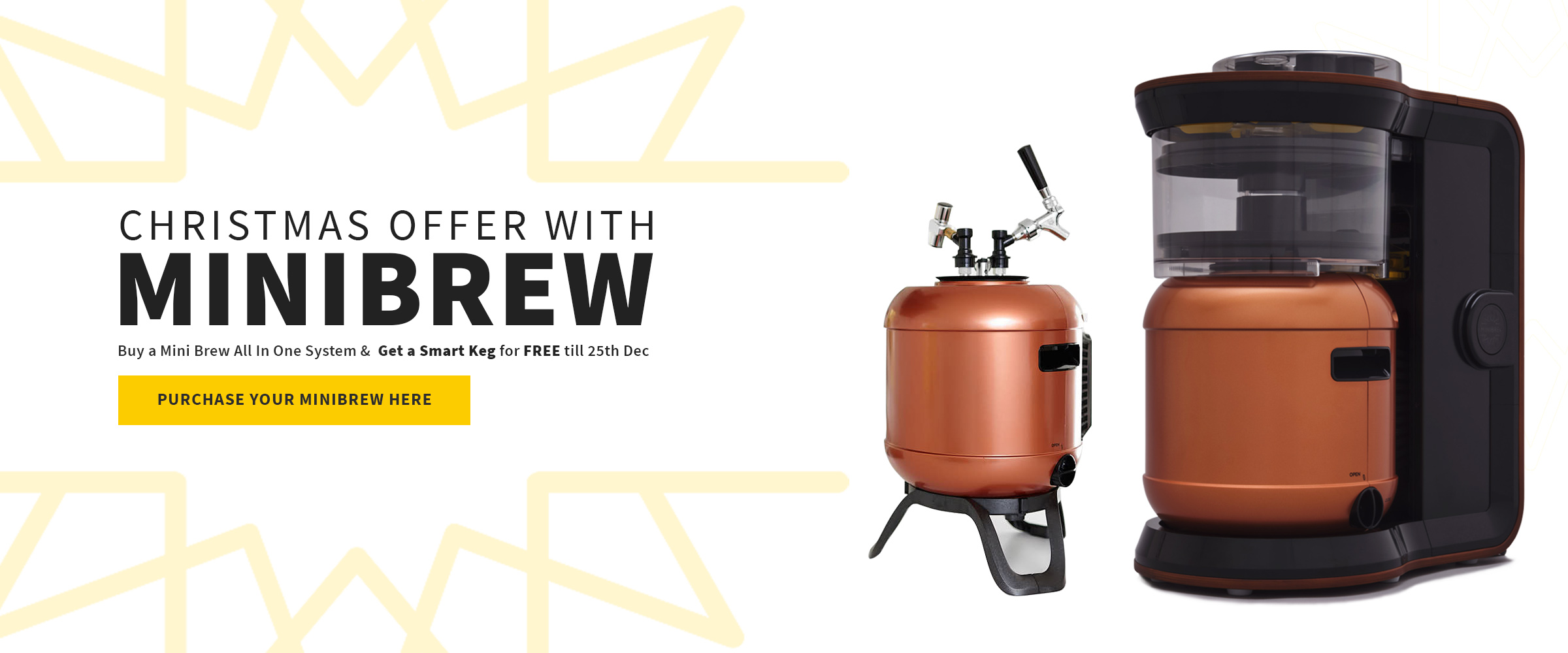 Minibrew Kit with Free Smart Keg