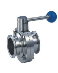 """1.5"""" tri-clamp butterfly valve"""