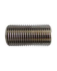 """Pipe with external 1/2"""" BSP thread -40mm long"""