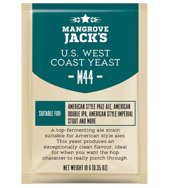 US West Coast Yeast m44