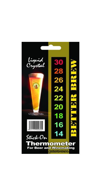 Stick-On LCD Thermometer